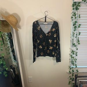 Beautiful Floral Blouse!